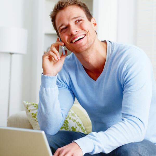 Residential internet service